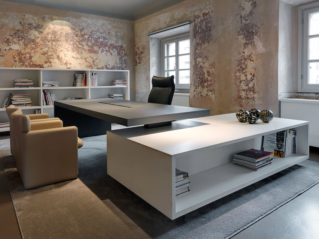 Arredamento uffici arredo contract chieti d 39 amico design for Uffici di design