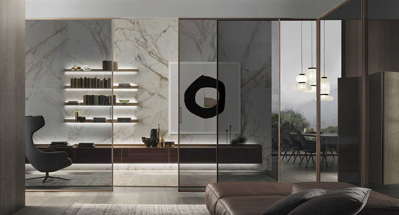 Porte e pareti divisorie d 39 amico design for Rimadesio arredamenti