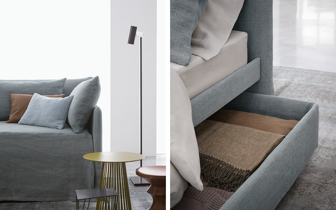 Duetto Flou Outlet. Awesome Letto Guia E Materasso Flou With ...