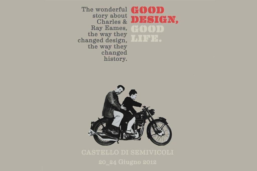 Charles e Ray Eames: Good Design, Good Life presso il Castello di Semivicoli