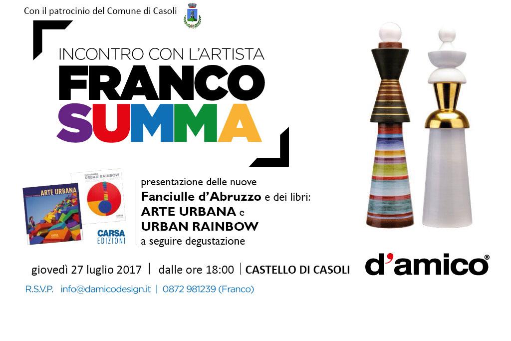 Presentazione delle nuove Fanciulle D'Abruzzo di Franco Summa