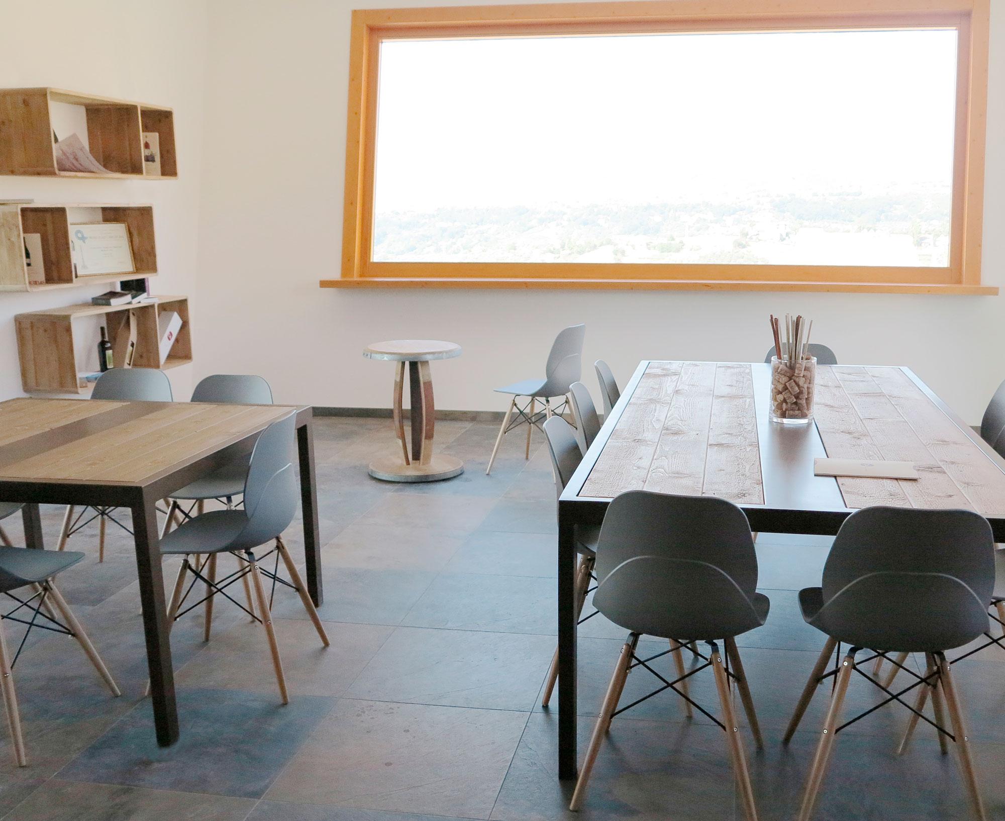 Sala degustazione – Casoli (Ch)